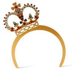 TATTY DEVINE Crystal Crown Tiara @Roberta Maggio devi fartelo portare