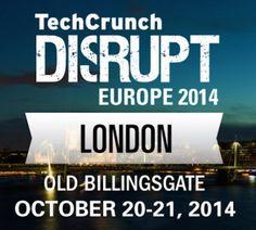 Win Two Free Tickets To Disrupt EU: London #TCDisrupt