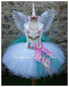 ** I currently have a 2 week turnaround - this is the time it will take to make your order - you still need to allow shipping / postage time too so pl. Unicorn Dress, Unicorn Costume, Unicorn Swimsuit, Horn Headband, White Unicorn, Unicorn Birthday Parties, Birthday Ideas, Halloween Disfraces, Tutus For Girls