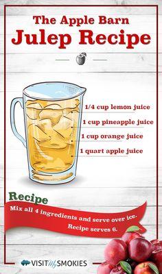 The Apple Barn Julep Recipe