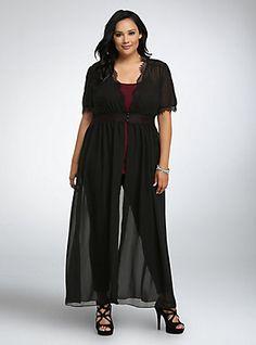 Plus Size Lace Front Button Tunic Curvy Plus Size, Plus Size Women, Curvy Fashion, Plus Size Fashion, Women's Fashion, Plus Size Dresses, Plus Size Outfits, Sheer Chiffon, Torrid