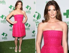 Ashley Greene In Giambattista Valli –  Global Green USA's 11th Annual Pre-Oscar Party. $2545 http://www.shopbop.com/strapless-dress-giambattista-valli/vp/v=1/1510619088.htm?folderID=2534374302208711&fm=other-shopbysize-viewall&colorId=35772