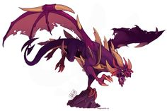 Malefor from The Legend of Spyro
