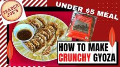 Hi, Welcome to my BubuMama Channel. How to make trader joe's froze food. How to make Trader Joe's Gyoza. How to make Potstickers , Under $5 Meals.  In this video I will show you How to make trader joe's froze food Trader Joes Frozen Food, Trader Joes Vegan, Trader Joe's, Home Made Dumplings Recipe, How To Make Dumplings, Chicken Gyoza, Chicken And Shrimp, Healthy Appetizers, Appetizers For Party