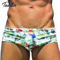 78b40dd3d1b93 Taddlee Brand Sexy Men Swimwear Swimming Boxer Trunks Shorts Men's  Swimsuits Swim Wear Gay Surf Boardshorts Low Waist Swim Brief-in Men's  Briefs from Sports ...