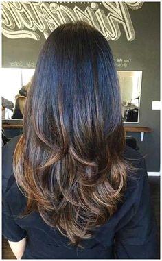 Layered Haircuts For Medium Hair, Haircuts Straight Hair, Haircut For Thick Hair, Medium Hair Cuts, Medium Hair Styles, Long Hair Styles, Layered Hairstyles, Summer Hairstyles, Cut Hairstyles