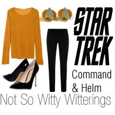 Star Trek Command Gold, an outfit for my dad's birthday.