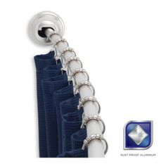 Curved Shower Curtain Rod Tension