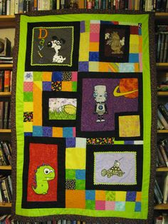 little boy quilt. This should be fun to make!
