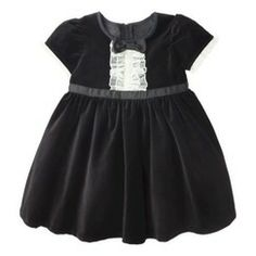 Harajuku Mini for Target® Toddler Girls' Dress - Black/Cream