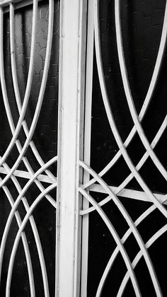 Close-Up Of Window With Security Bars