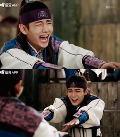 We all know Tae Tae really can't do this part even if he was forced to, such flexibility~ kkkk hwarang yeo wool | Tumblr