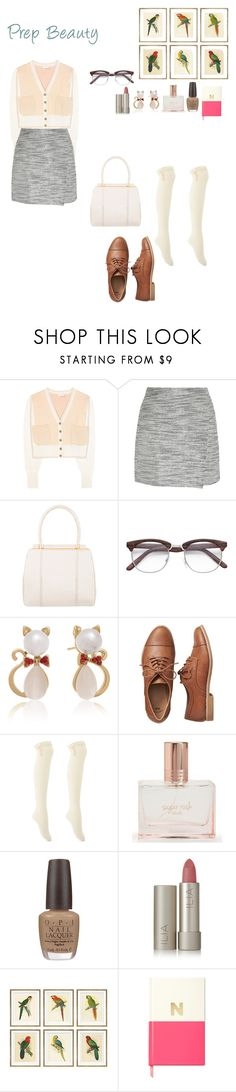 """Untitled #573"" by cammy-2396 ❤ liked on Polyvore featuring Chloé, J.Crew, Judith Leiber, Adoriana, Gap, Charlotte Russe, Aéropostale, OPI, Ilia and William Stafford"