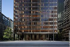 375 Park Avenue – Seagram Building  Mies Van Der Rohe's world famous Seagram building is the finest example of an International Style skyscraper- one much copied but never equaled.