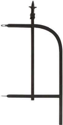 Panacea Products Arched Finial End Panel, Brushed Bronze Veg Garden, Garden Fencing, Outdoor Gardens, Arch, Bronze, Middle, Outdoor Decor, Fences, Products