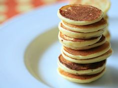 Baby Cereal Pancakes.