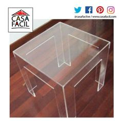 Las estancias modernas deben lucir muebles de calidad, te presentamos nuestra mesa modelo Aman lateral