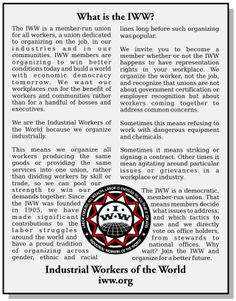 IWW | also see other iww pages on this site iww graphics