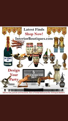 Enjoy The Bank Holiday Weekend InteriorBoutiques.com #Design #Party #Carnival #NottingHillCarnival #Antiques