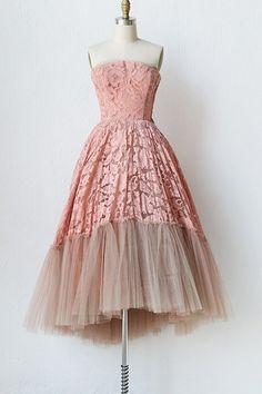 Sweet Women's Strapless Mesh Spliced Sleeveless Dress