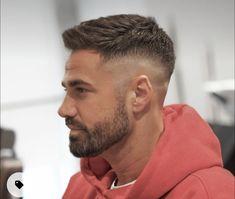 Short Hair With Beard, Short Fade Haircut, Wavy Hair Men, Hair And Beard Styles, Beard Styles For Men, Men Short Hair Fade, Short Beard Styles, Medium Beard Styles, Different Beard Styles