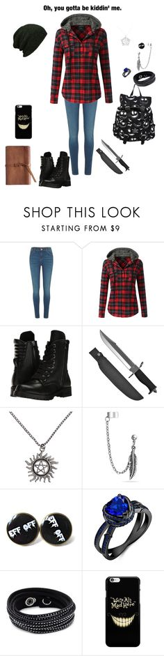 """""""44"""" by ms-alyssadunn ❤ liked on Polyvore featuring River Island, Doublju, Capezio, Whetstone Cutlery, Hot Topic, Bling Jewelry and Swarovski"""