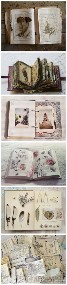 Art Journal Love... I wish I could get determined enough to journal like this! Impressive!