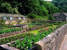 This could go in Farm Girl Dreams, too, but it is a Potager Garden and a great website about homesteading