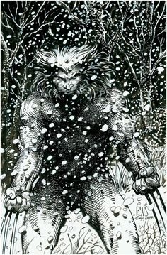 Weapon X (Wolverine) by Barry Windsor-Smith