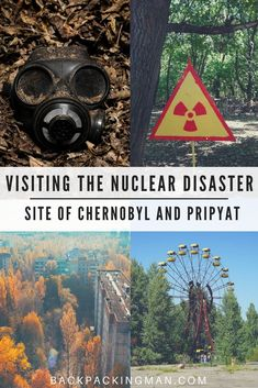 Ukraine travel | Visit the Chernobyl nuclear disaster site and the abandoned city of Pripyat. #Ukraine #Chernobyl #Pripyat #Europe
