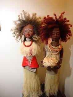 handmade black dolls
