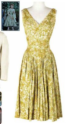 "Kim Novak's green dress from ""Picnic"" (1955):  sold at the Debbie Reynolds: The Final Auction.  