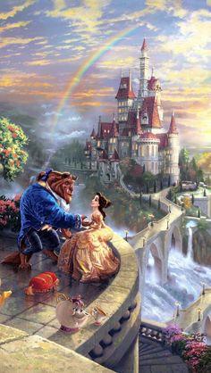 Beauty and the Beast uploaded by LegendaryHearter - Disney ♥ - . - Beauty and the Beast uploaded by LegendaryHearter – Disney ♥ – - Disney Princess Drawings, Disney Princess Art, Disney Drawings, Disney Princesses, Princess Belle, Disney Cartoons, Disney Movies, Disney Pixar, Disney Mickey