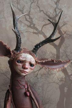 Kosma - art doll by Klaudia Gaugier @horkadolls #horkadolls