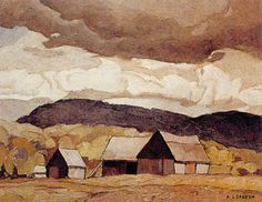 Barn Near Quadville - A.J. Casson