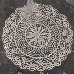 Free Irish Crochet Morn Doily Pattern