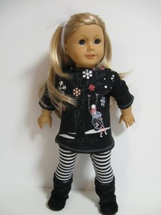 American Girl Doll Clothes Chill Chase Girl by 123MULBERRYSTREET