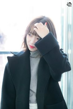 Choi Yoojung, Turtle Neck, Sweaters, Fashion, Moda, Fashion Styles, Sweater, Fashion Illustrations, Sweatshirts