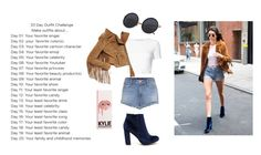 """""""day 14"""" by odscene ❤ liked on Polyvore featuring Rosetta Getty and J Brand"""