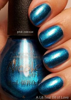Nicole by OPI A Lit-Teal Bit of Love
