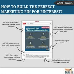 How to Build the Perfect #Marketing Pin for #Pinterest