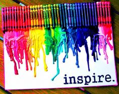 DIY Crayon Art Your Inspire for The Whole Family