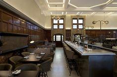 One Kensington bar and restaurant by B3 Designers Tamarind Group London 02 One Kensington bar and restaurant by B3 Designers, London