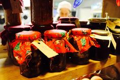 Some christmas preserves. Christmas Preparation, Cooking Classes, Organic Recipes, Towers, Preserves, Holiday, Kitchen, How To Make, House