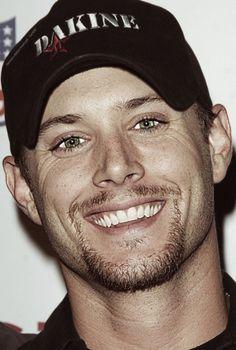 Scruffy Jensen <3 & look at those beautiful eyes!
