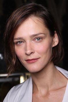 Estonian model Carmen Kass   giles backstage10