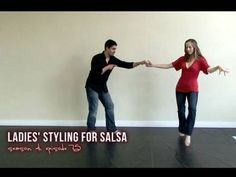 Salsa Dancing with Styling for Ladies - how you can tell when to add flair