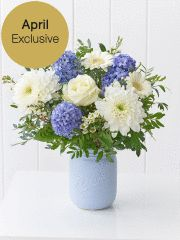 Spring Crisp Blooms Jar Large: Booker Flowers and Gifts Get Well Flowers, Flowers For You, Easter Flowers, Spring Flowers, Flower Centerpieces, Flower Arrangements, White Wax Flower, Flower Meanings, Sympathy Flowers