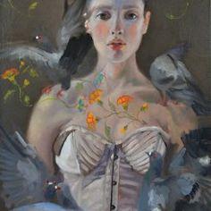 Sophie Morisse   OIL   Porcelaine De Rouen