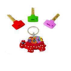 Red Turtle key chain, key chain, keychain, key holder, unique key chain, bag decorate,key chain for woman,cute key chain